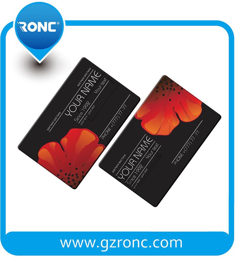 Company Logo Printed Credit Card USB Flash Drive 8GB