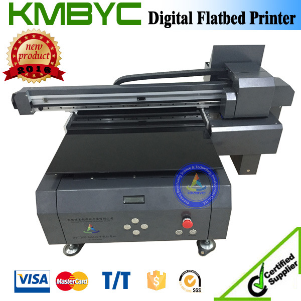 High Speed UV LED Flatbed Printer for Bottle Logo Printing Machine