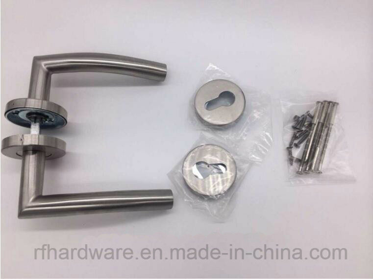 Stainless Steel Tube Level Door Handle (RL005)