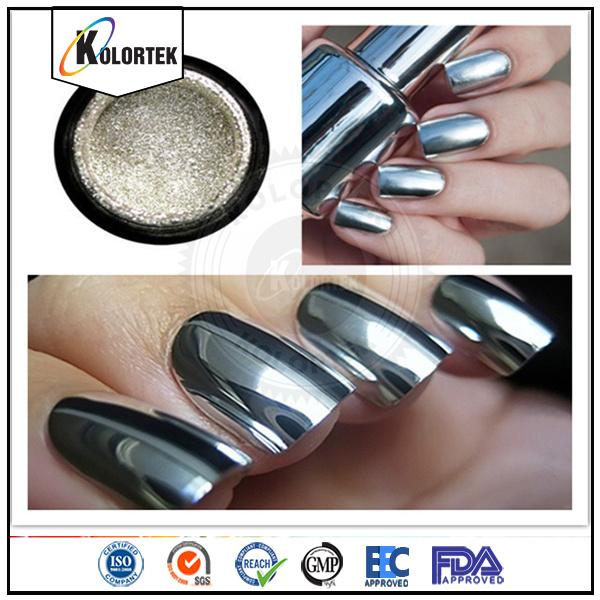 Chrome Mirror Pigment Nail Powder Sliver Pigment Supplier