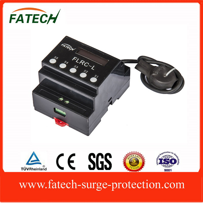 Lightning Strike Surge Current Counter with LCD Display Reset Function