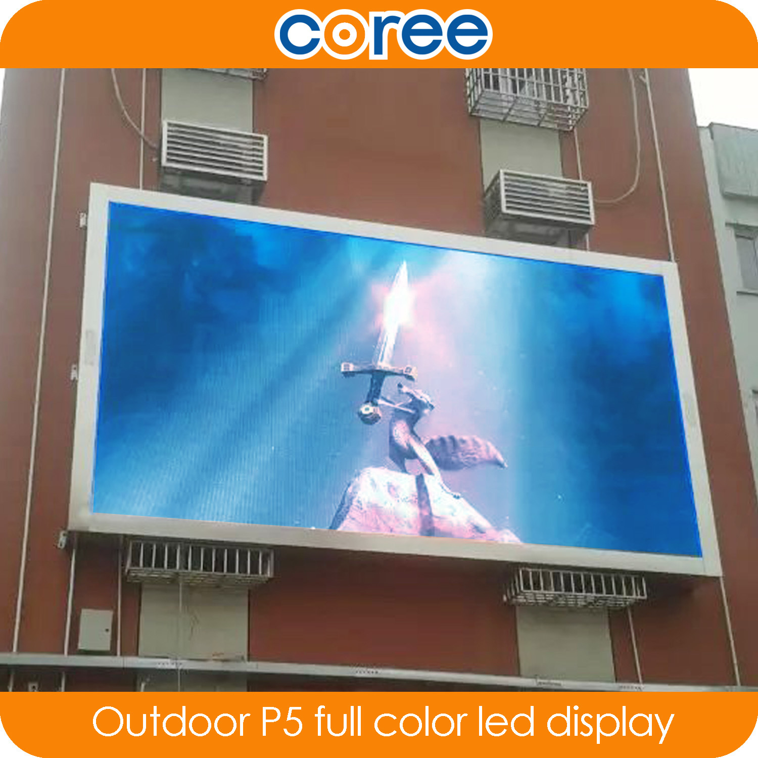 Outdoor High Definition P5 Tull Color LED Display