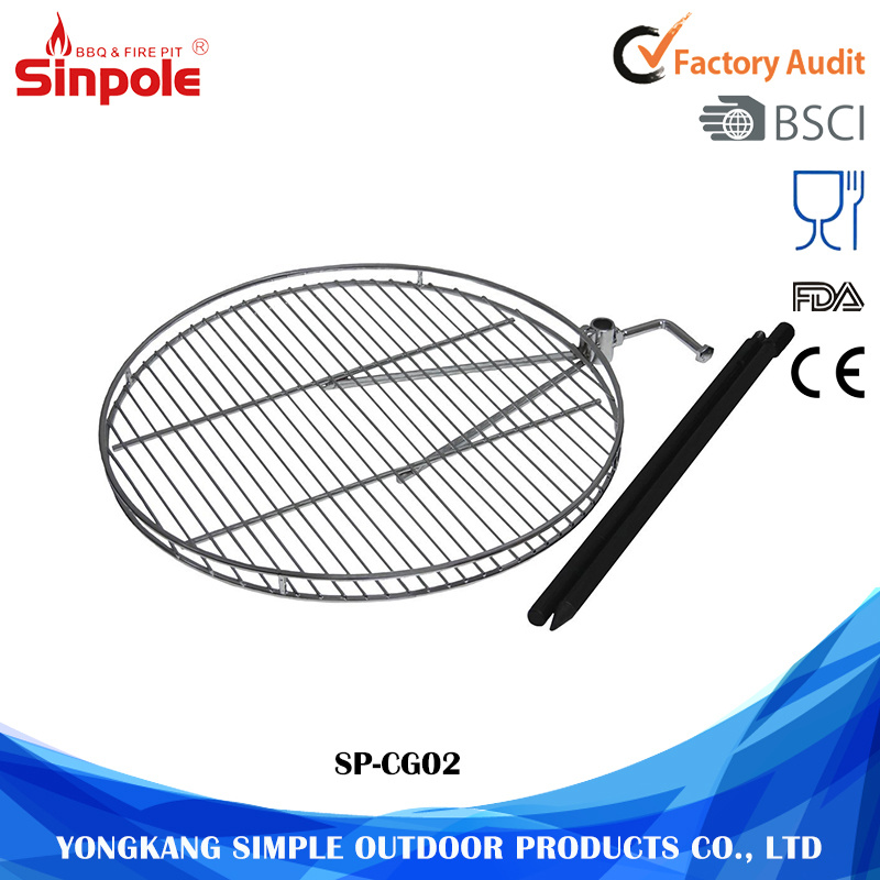Barbecue Wire Mesh New Design Round Grill Chef BBQ