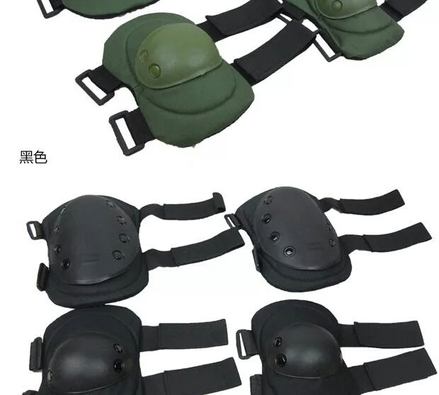 2016 Old Fashioned High Quality Nylon Tactical Military Outdoor Hiking Sports Use High-Quality Knee&Elbow Pads