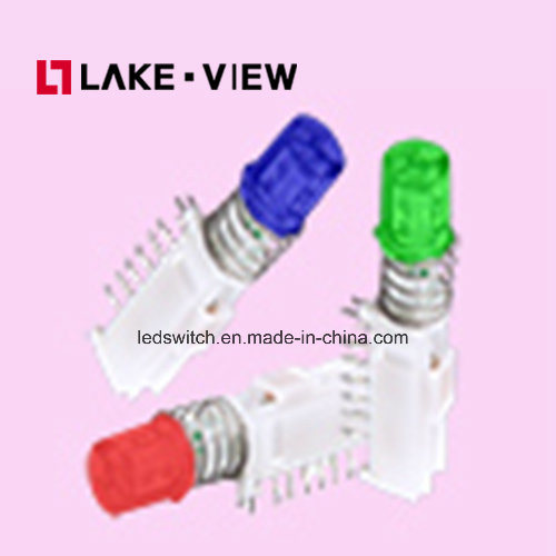 Right Angle LED Illuminated Pushbutton Switch Features 2 or 4 Pole Options