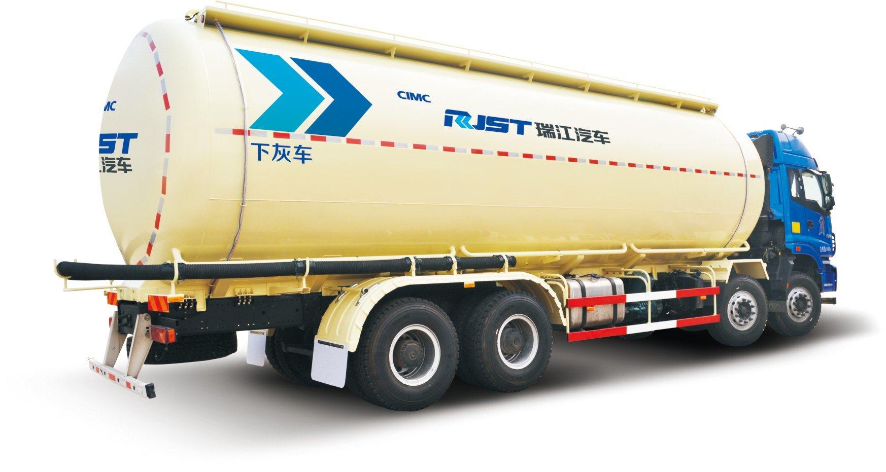 Faw 8X4 Bulk Cement Tank Truck /Powder Tank Truck Cement Transport Tank Truck