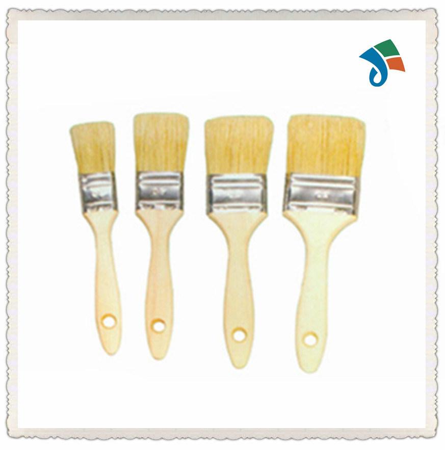 Wooden Handle Pure Natural Bristle Paint Brush