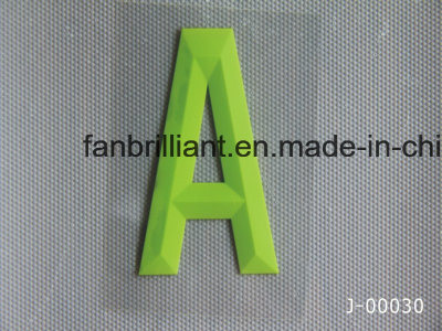 3D Silicone Heat Transfer Label for Cloth