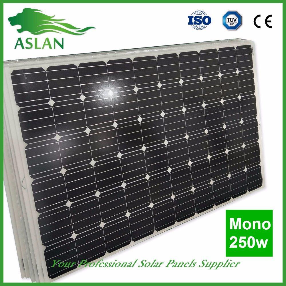 a-Grade Monocrystalline Solar Panel /Module for Solar Power System