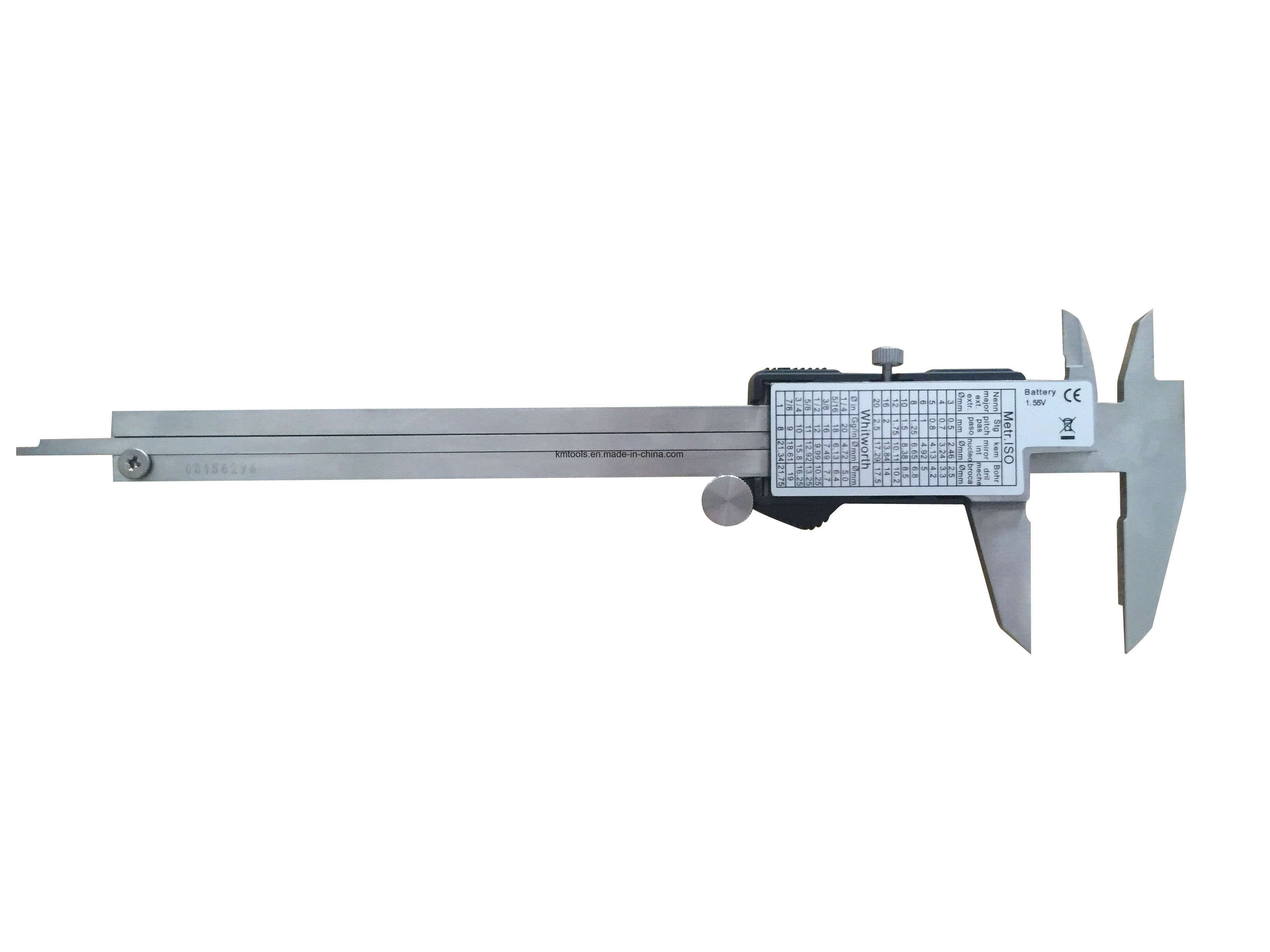 0-150mm/0-6′′ Large LCD Digital Display Vernier Caliper