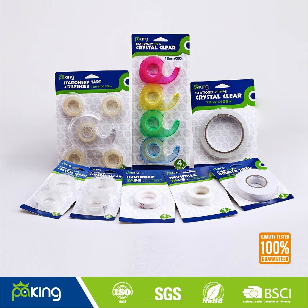 Blister Shrink Color BOPP Acrylic Stationery Tape