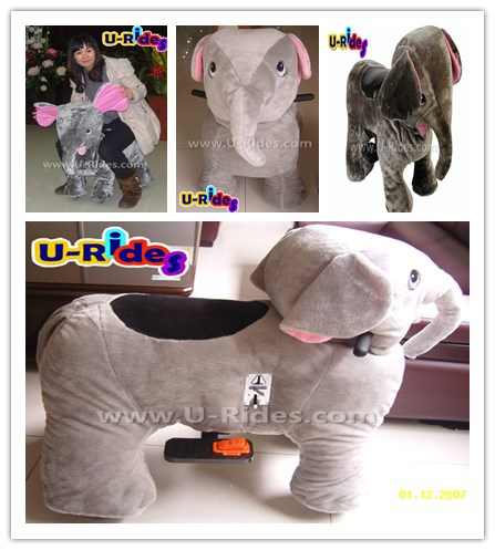 Elephant walking animal ride big size for parents and kids together