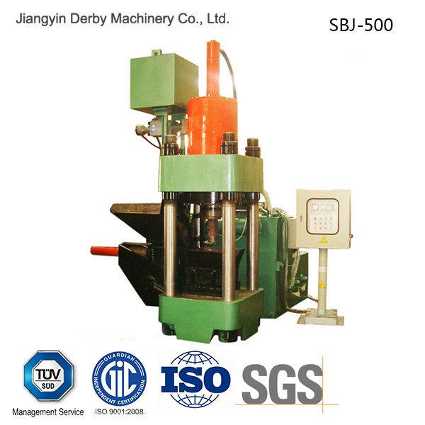 Briquetters Automatic Aluminum Iron Metal Scrap Hydraulic Briquette Recycling Machine-- (SBJ-500)