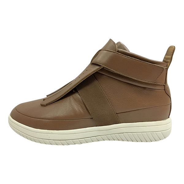 Indian Style Casual Shoes Footwear High Leather Shoes for Men