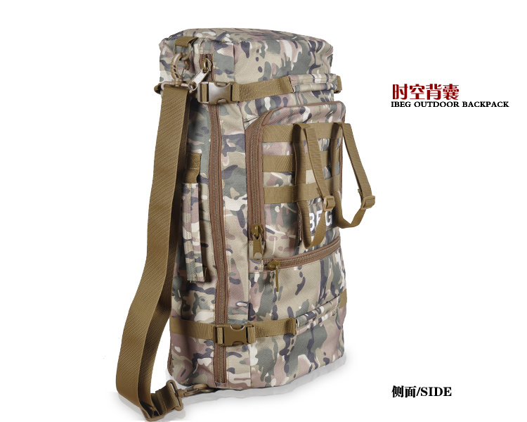 100llarge Capacity 1000d Nylon Tactical Military Hiking Backpack