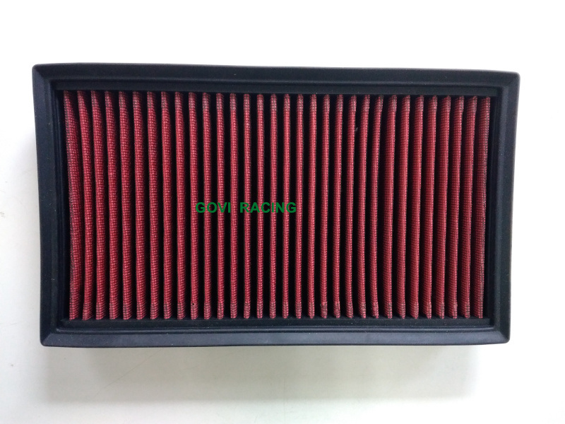 K&N Customed Panel Performance Air Filter Auto Parts Red /Black