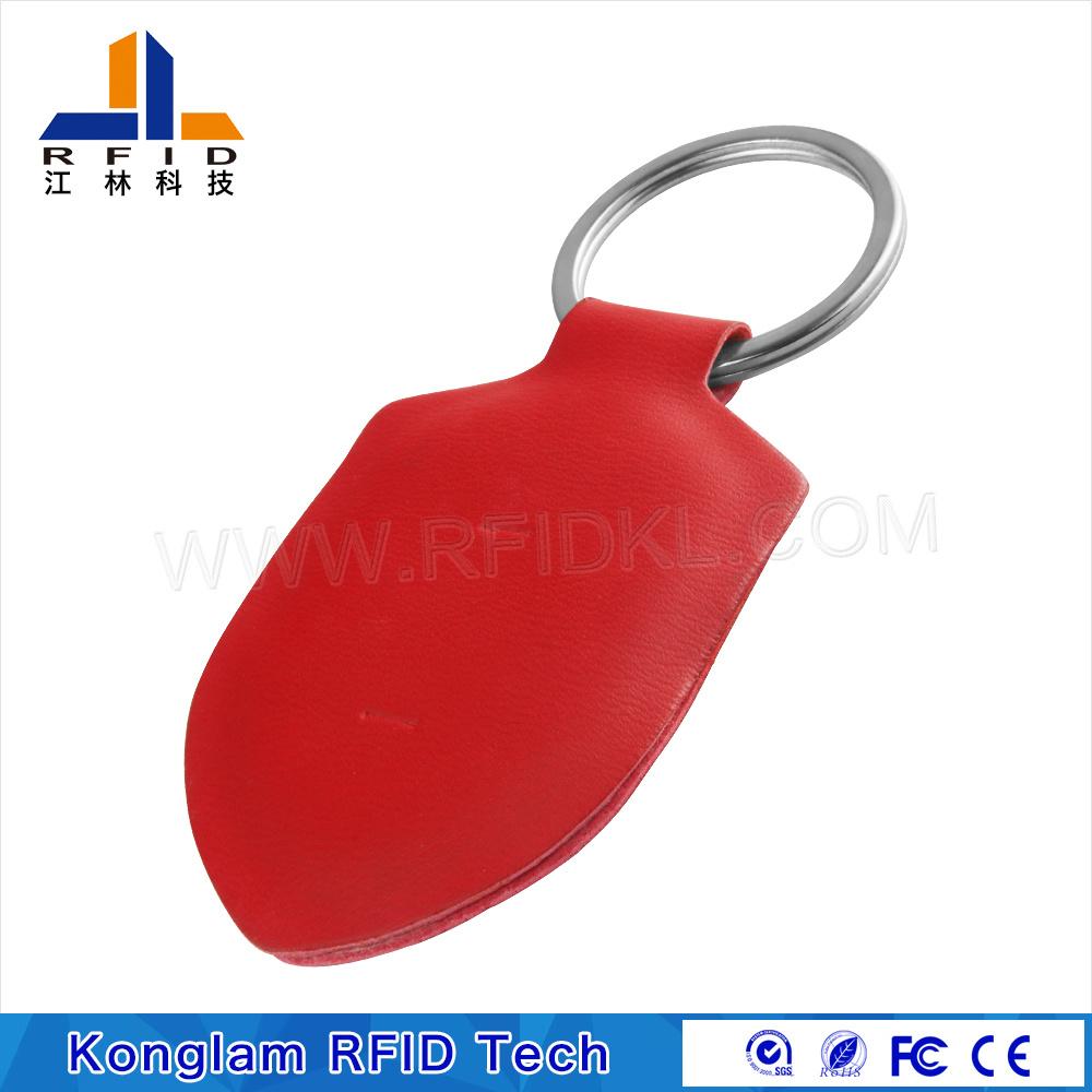OEM Leather Portable Smart RFID Card