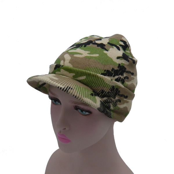 2017 New Multicolor Camouflage Knitted Hat