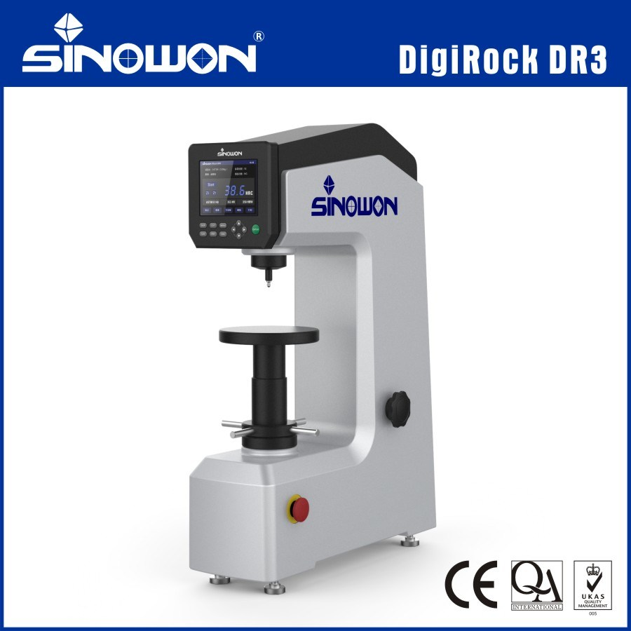 Color Touch Screen Digital Rockwell Hardness Tester Digirock Dr3