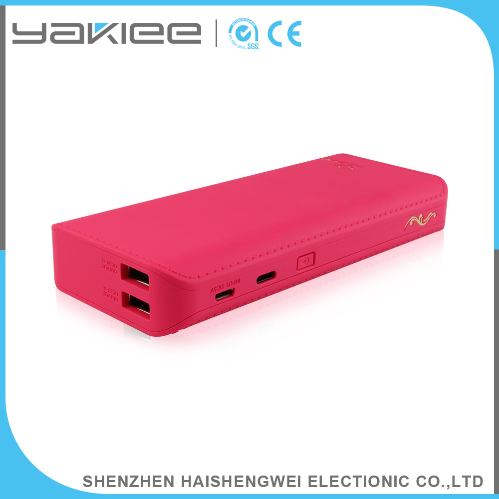 Wholesale 5V/2A Output USB RoHS Power Bank