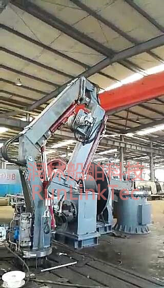 Hydraulic Telescopic and Knuckle Crane/Marine Crane/Hydraulic Crane/Crane