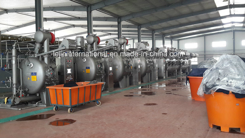 Bsn-OE-4P Ultra-Low Liquor Ratio Ecological Knit Dyeing Machine/ 1000kg Capacity