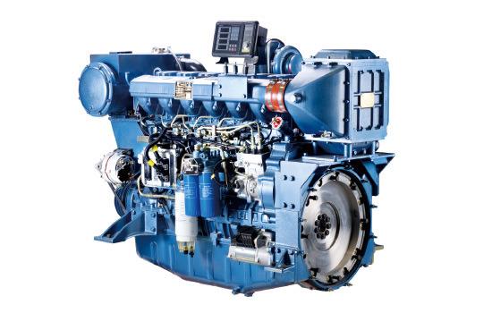 Weichai Wp4 Series (WP4C82-15) Marine Diesel Engine for Ship (60-103kW)