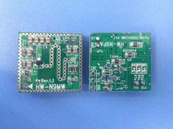 New Microwave Radar Sensor Module for LED Light Switch (HW-N9) Microwave Sensor Module