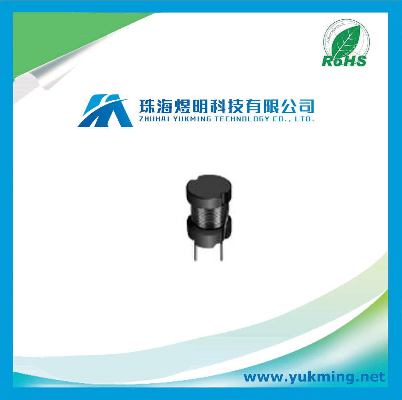 Pin Power Inductor of Electronic Component for PCB Board Assembly