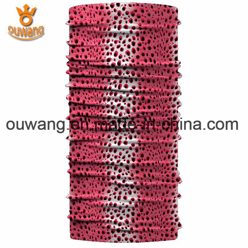 Promotional Sportswear Magic Cool Polyester Custom Printed Scarf