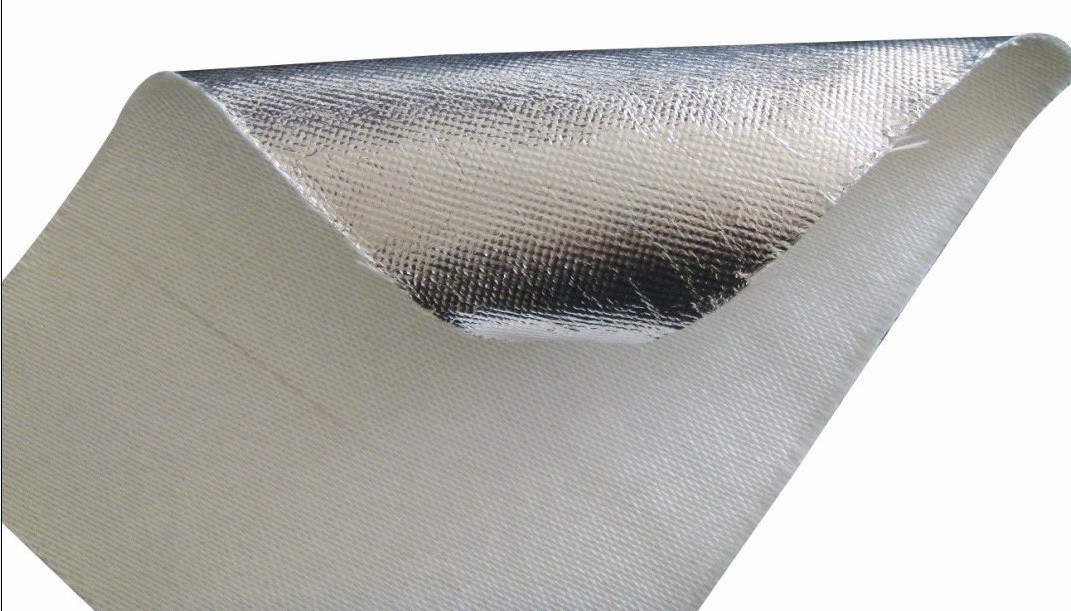 Fireproof and Heat Insulation Aluminum Foil Glass Fiber Cloth
