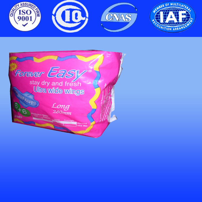 Ladies Sanitary Pads with Anion Napkin with FDA China Supplier of Sanitary Napkins (Y310)