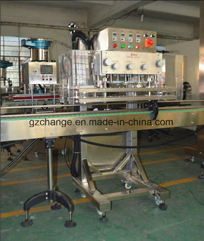 Thread Twist off Cap Screw Machine for Glass Bottle