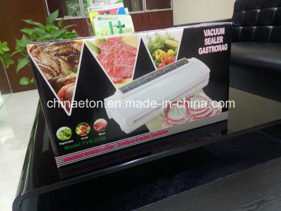 Household 30W Automatic Food Packing Machine, Vacuum Sealer, Ce/ETL Verified (ET-2300)