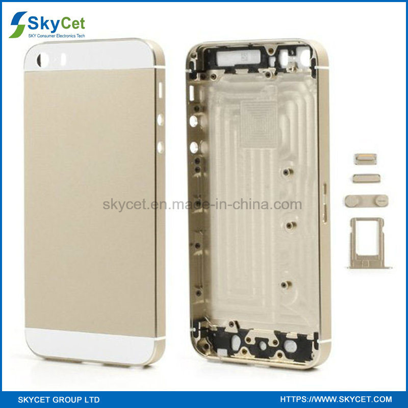Original Mobile Phone Battery Door Back Cover Housing for iPhone 5s