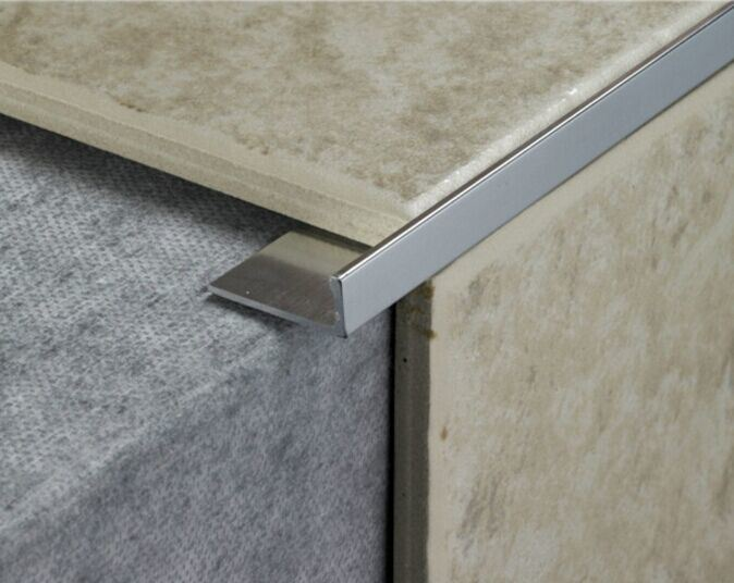 PVC Ceramic Tile Trim in 10mm Height