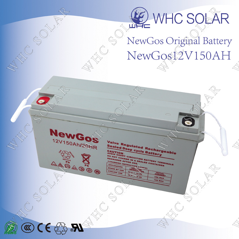 Deep Cycle Lead Acid Battery 12V 150ah Solar Battery