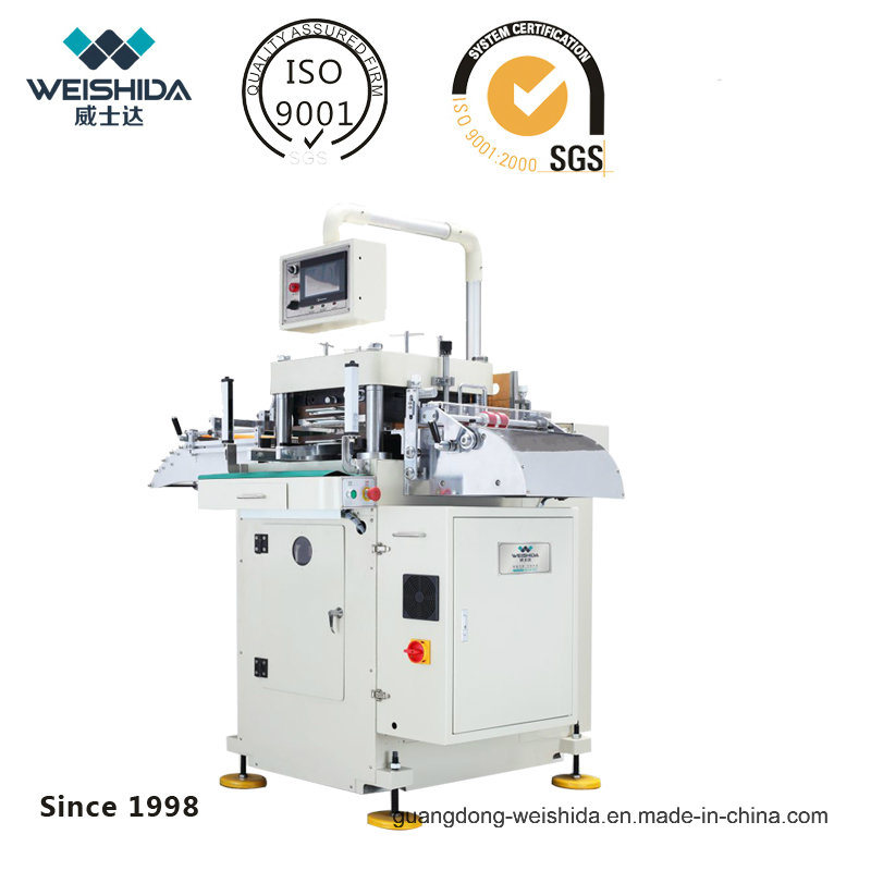 Wgs420 Intelligent Hi-Speed Follow-up Pressure &Guide Die-Cutting Machine