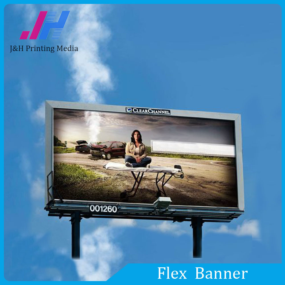 Outdoor Advertising PVC Flex Banner