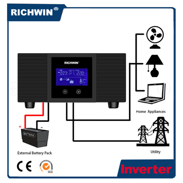 0.3-1.2kw DC Low Frequency Pure Sine Wave Auto Power Inverter