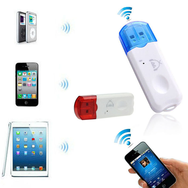Mini USB Wireless Audio Transmitter and Receiver USB Bluetooth Music Receiver