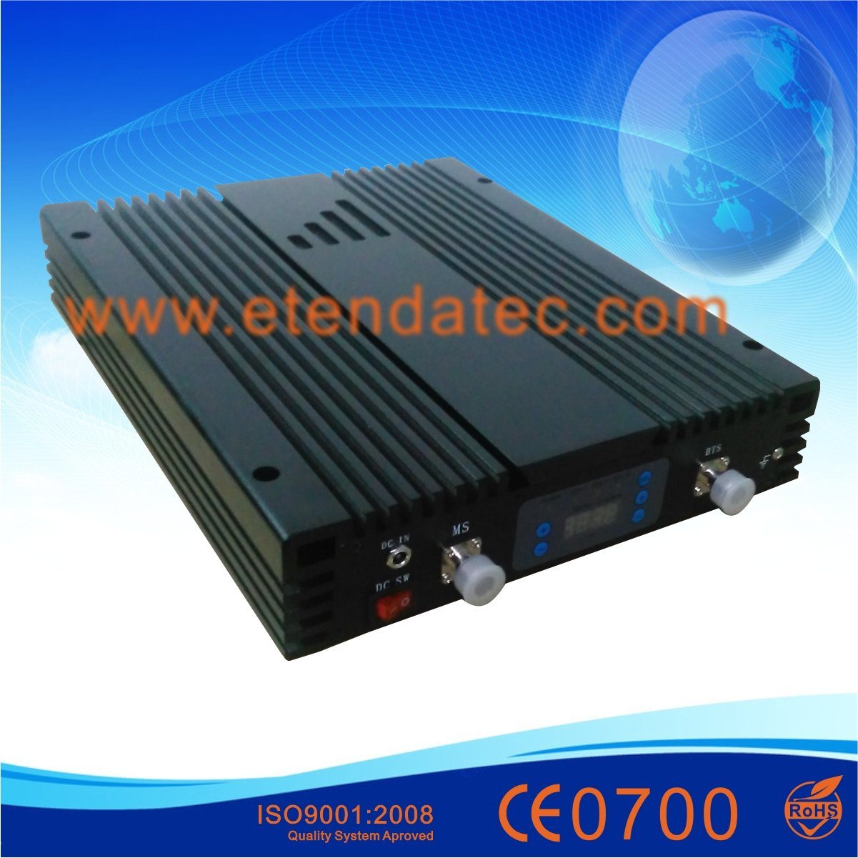30dBm 85dB GSM/Dcs/WCDMA 3G Mobile Signal Repeater