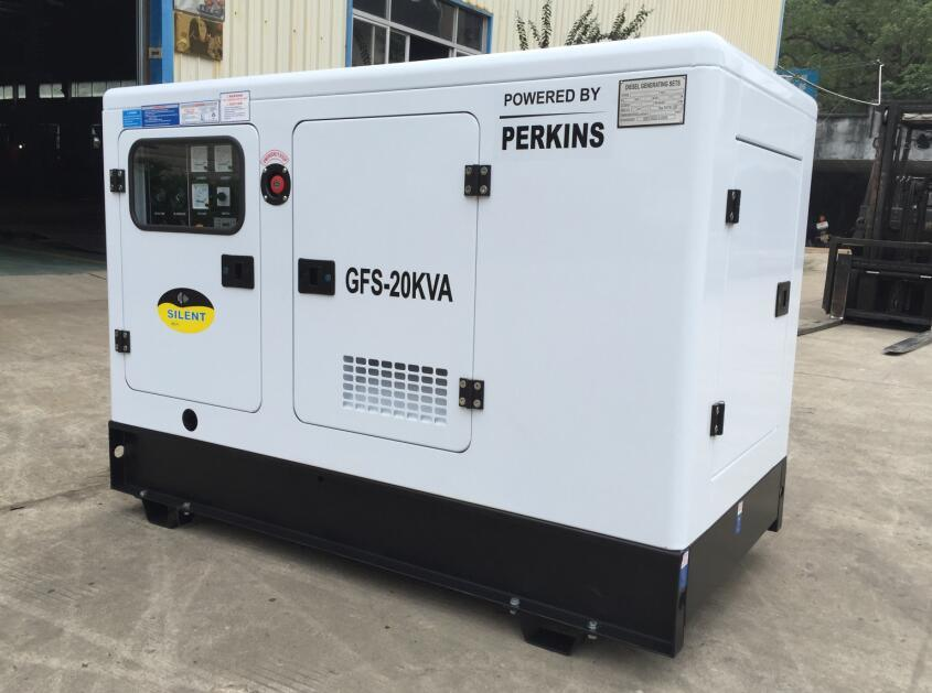 Electrical Generator Powered by UK Engine