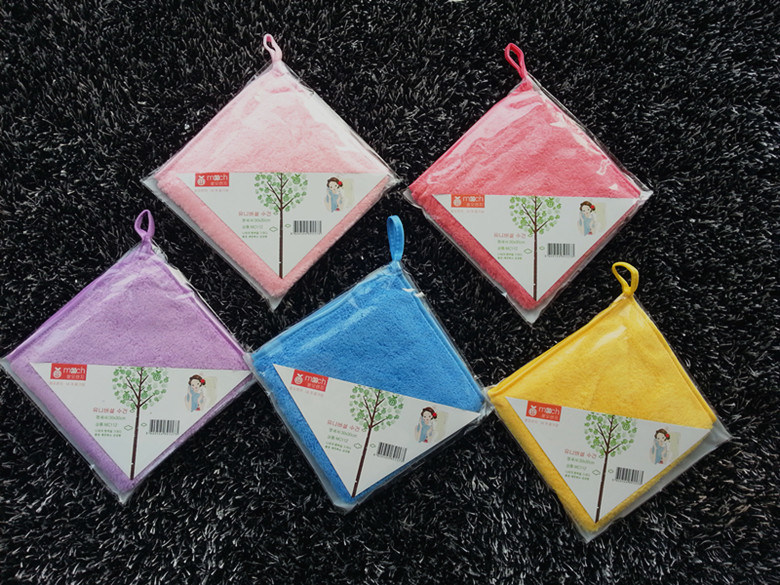 Cleaning Microfiber Towel Sport Towel No Drop Strags Towel China Factory