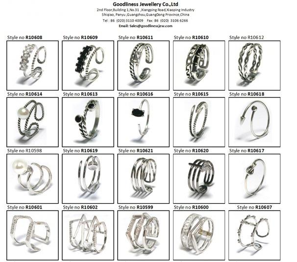 2017 Top Quality Fashion Jewelry Triangle 925 Silver Earring (E6824)