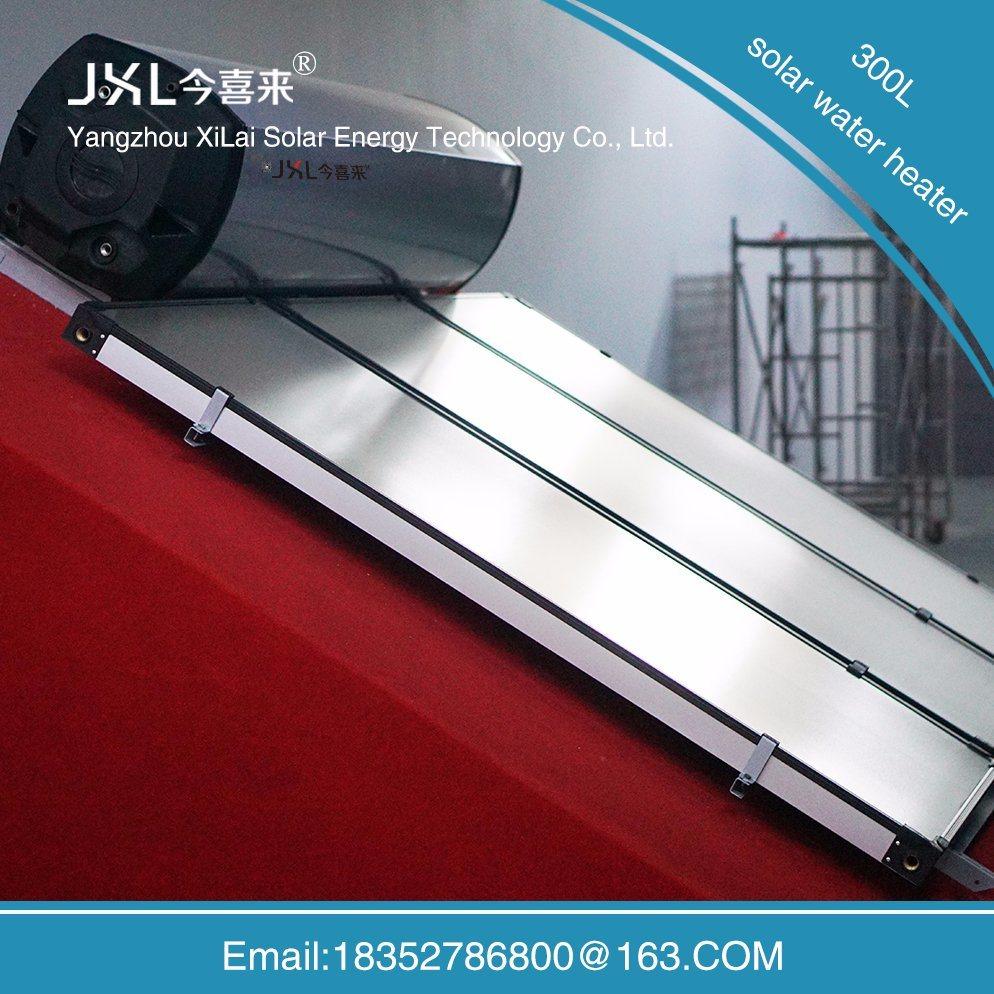 300L Villa Roof High Efficient Flat Solar Water Heater Flat Plate Solar Collector