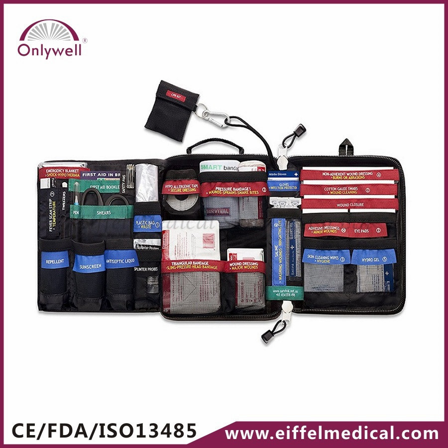 Competitive Price Medical Workplace Factory Emergency First Aid Bag