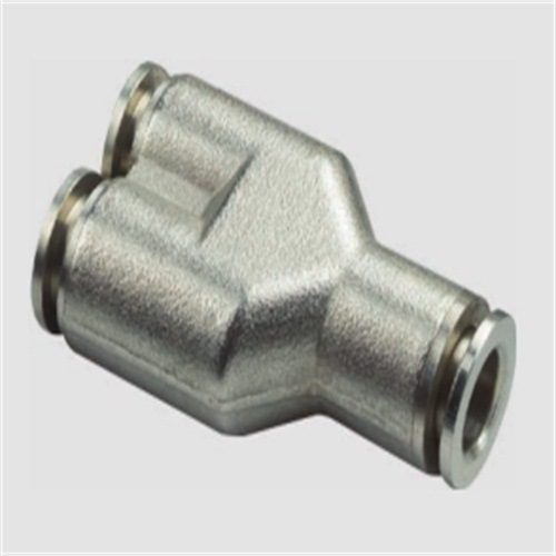 PV Union L Brass Metal Pneumatic Fitting