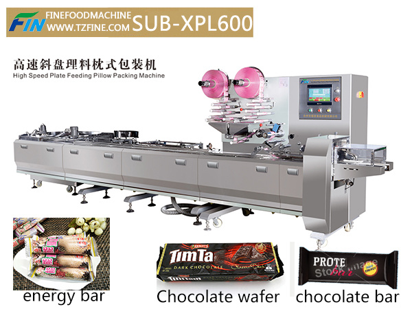 Automatic Chocolate Feeding and Packing / Wrapping Machine