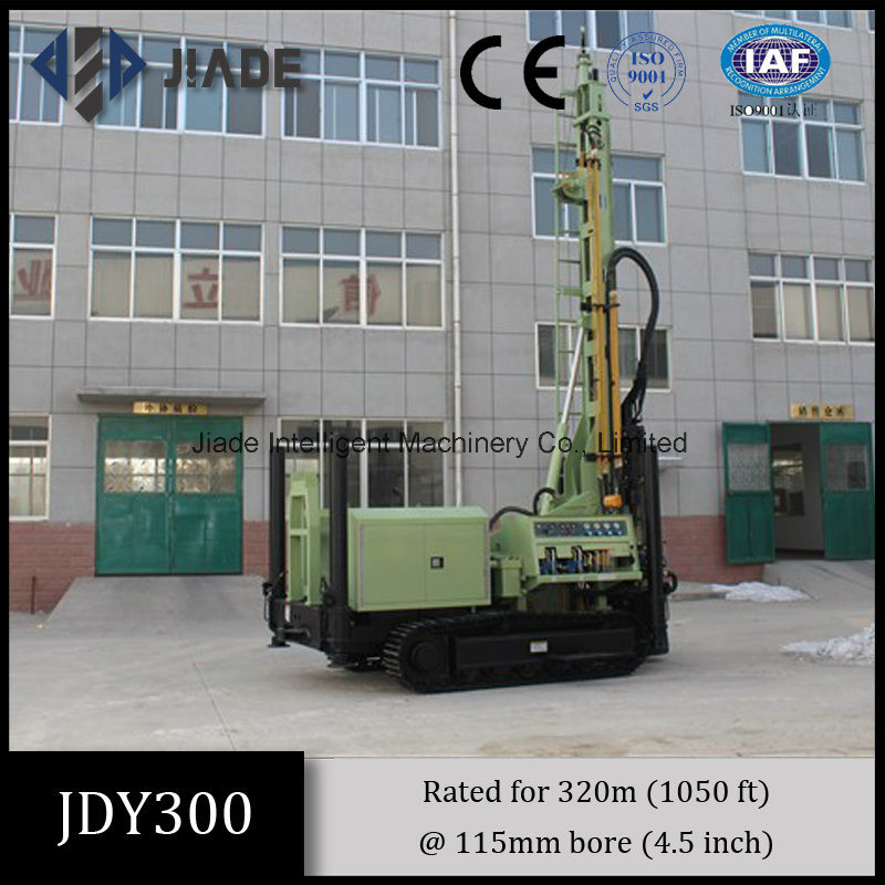 Jdy300 Crawler Mounted Hydraulic Drilling Rig